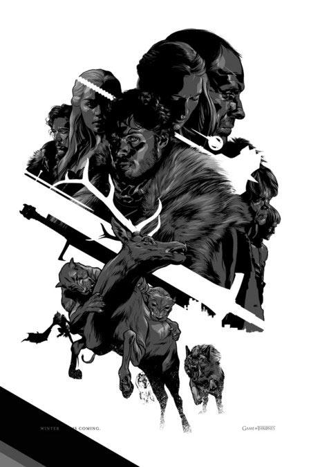 Poster de JUEGO DE TRONOS