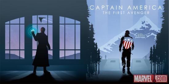 Portada de Capitán América: El Primer Vengador