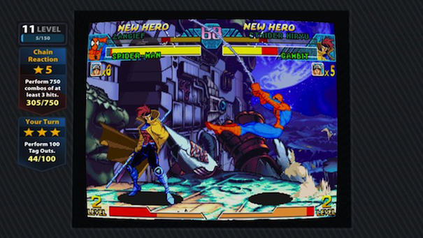 Marvel Vs Capcom Origins2 LCDE1