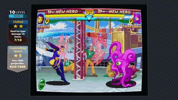 Marvel Vs Capcom Origins3 LCDE1
