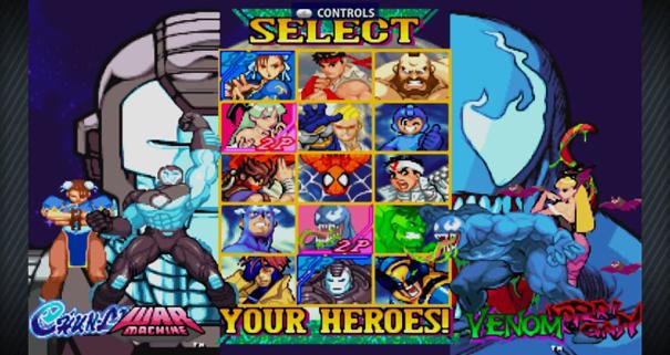 Marvel Vs Capcom Origins4 LCDE