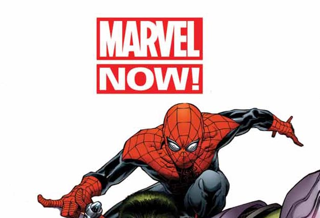 Marvel now Spiderman