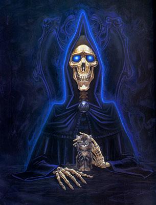 La Muerte, de Mundodisco