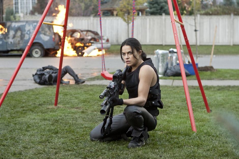 Michelle Rodríguez en Resident Evil: Venganza
