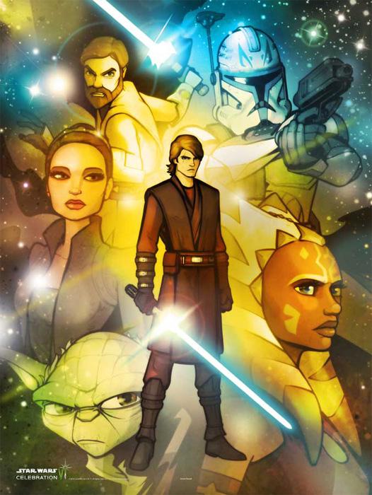 Star Wars Celebration VI Heroes of the Clone Wars