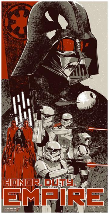 Star Wars Celebration VI Honor. Duty. Empire.