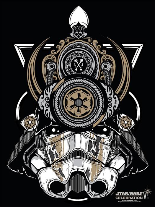 Star Wars Celebration VI Samurai Trooper