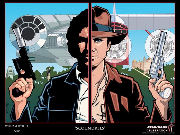 Star Wars Celebration VI Scoundrels