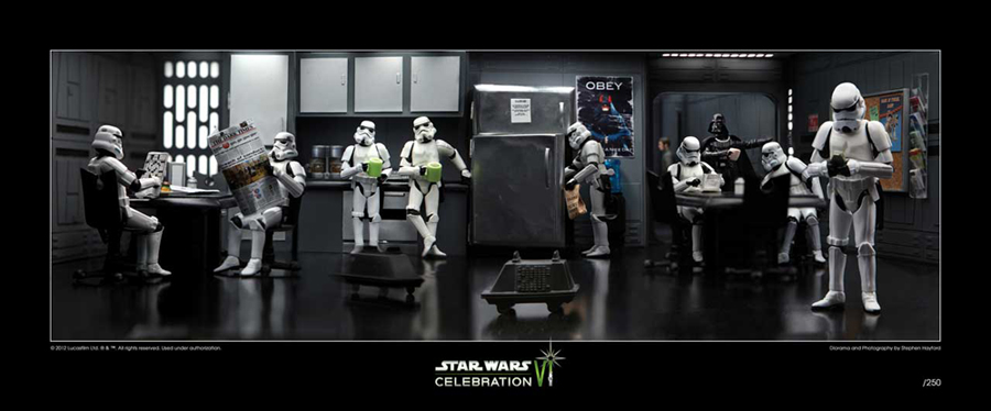Star Wars Celebration VI Trooper Break 2