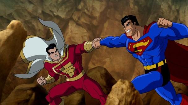 Superman Batman enemigos publicos shazam marvel
