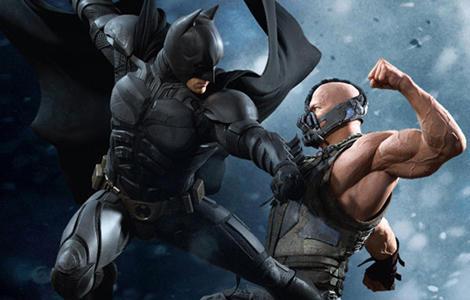 The Dark Knight Rises batman bane