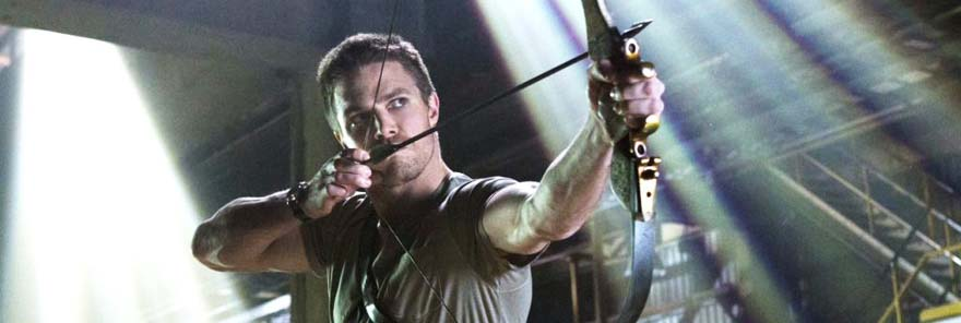 stephen amell en la serie de arrow