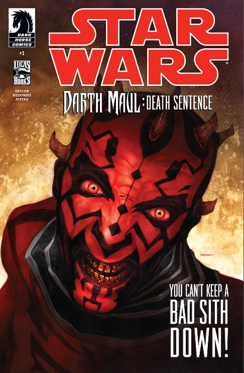 Portada del Darth Maul Death Sentence