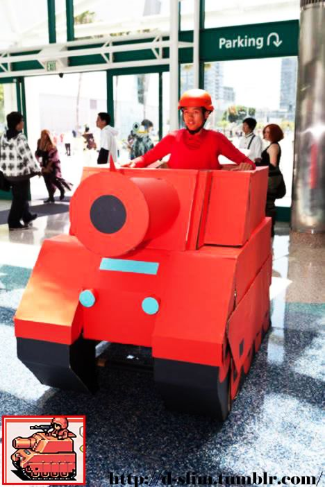 cosplay advance wars