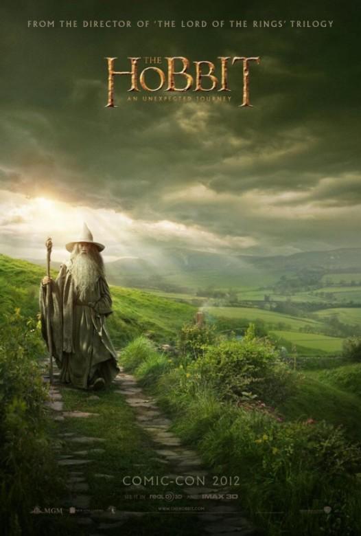 el hobbit un viaje inesperado poster