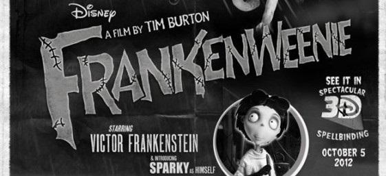 frankenweenie poster terror clasico fragmento