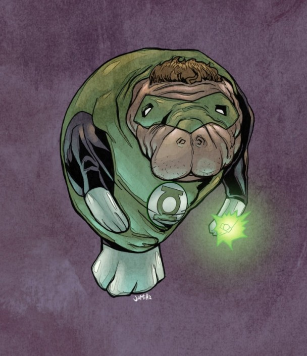 green lantern manatí