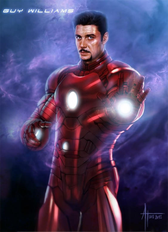 guy williams iron man tony stark