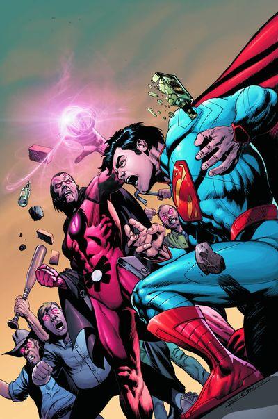 Portada del Action Comics 12