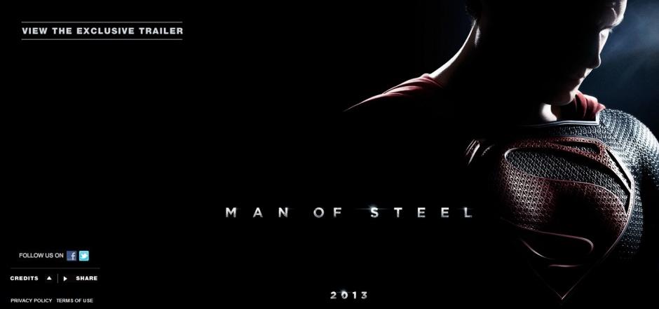 man of steel official website