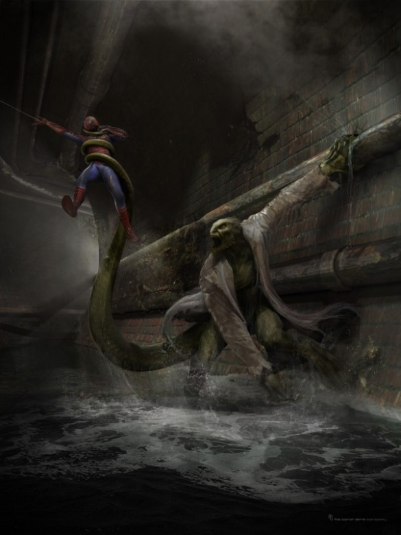 lizard vs Spiderman