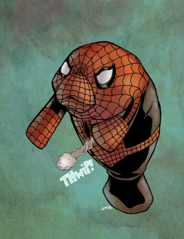 spidermanatí