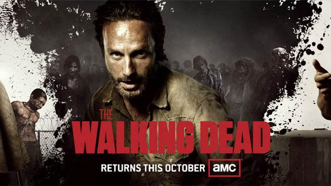 the walking dead temporada 3 comic con 2012