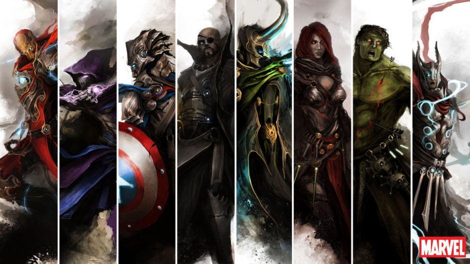 the avengers by thedurrrrian d55trk8