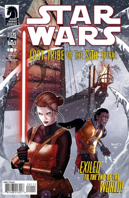 Portada del Star Wars: Lost Tribe of the Sith - Spiral 1