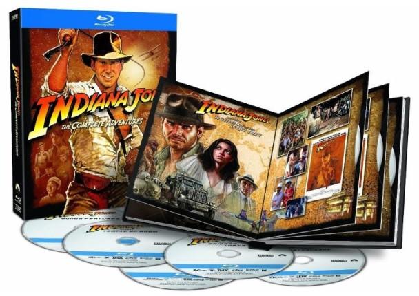 Pack de Indiana Jones en Blu-Ray
