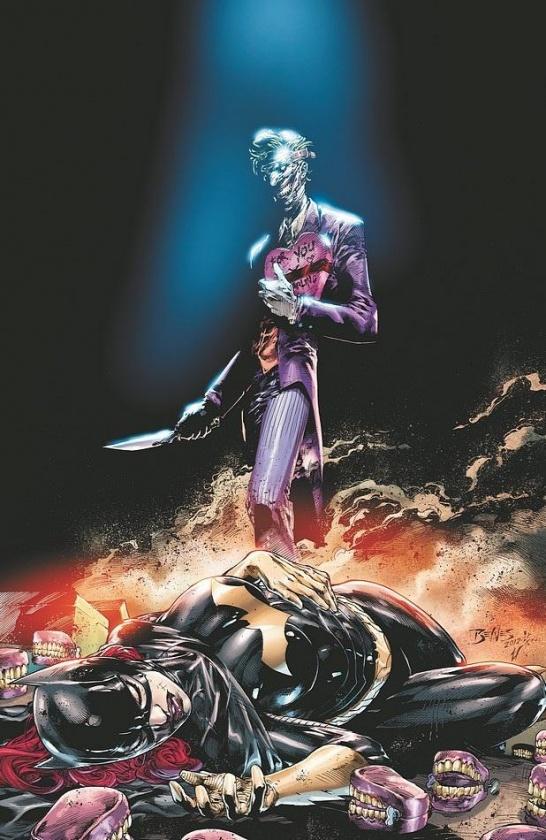 Joker y Batgirl