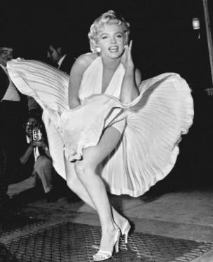 """Marilyn Monroe en """"La tentación vive arriba"""""""