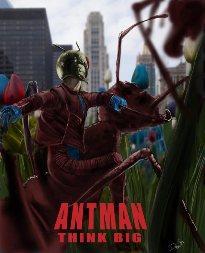 "Póster fan made de ""Ant Man"""