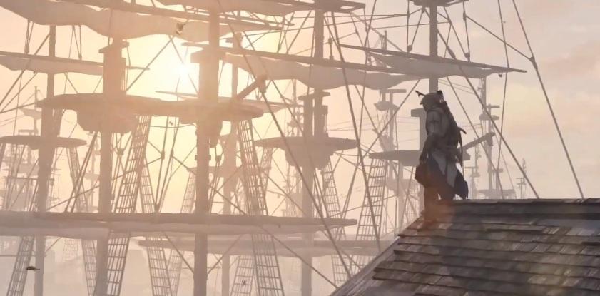 Assassin Creed 3 Connor batallas navales