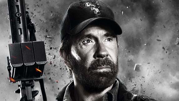 Chuck Norris Los Mercenarios 2