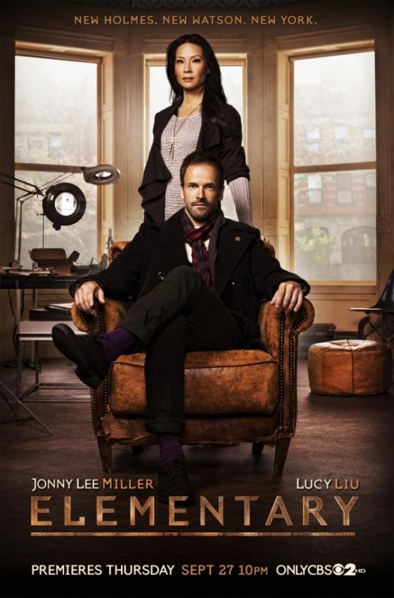Póster de 'Elementary', la nueva serie de CBS