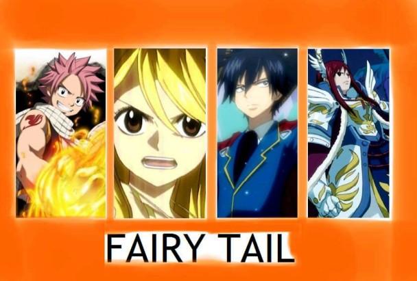 Protagonistas de Fairy Tail