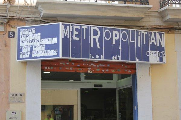 Metropolitan Cómics Valencia