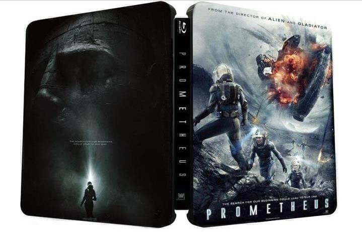 Prometheus Blu-Ray Cover Caratula