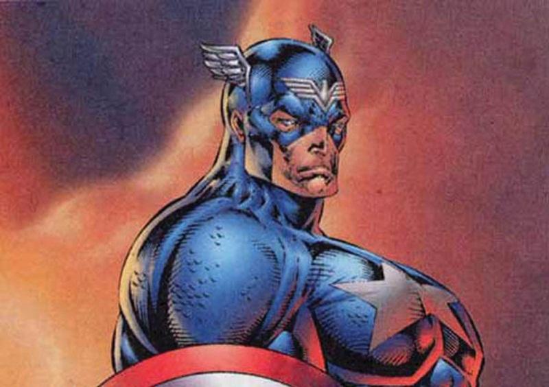 Rob Liefeld Captain America1