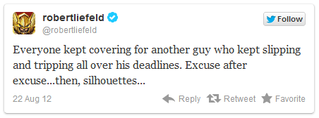 Rob Liefeld Twitter