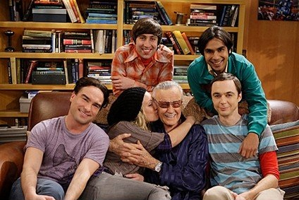 Stan Lee Big Bang Theory