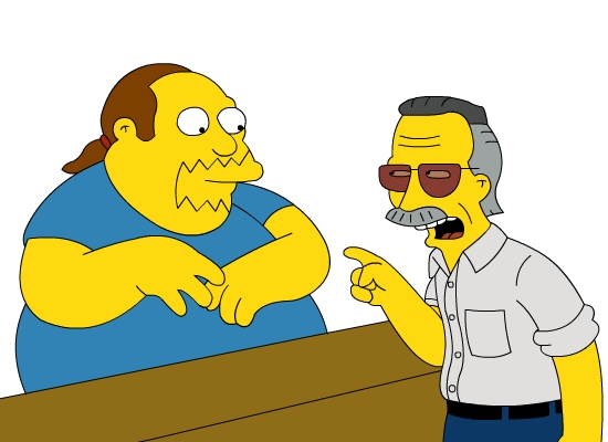 Stan Lee Los Simpson
