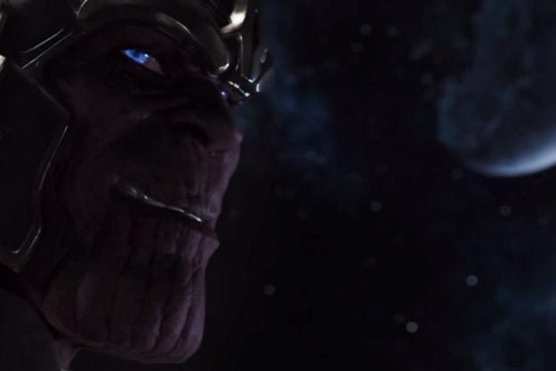 """Thanos en escena post-créditos de """"Los Vengadores"""""""