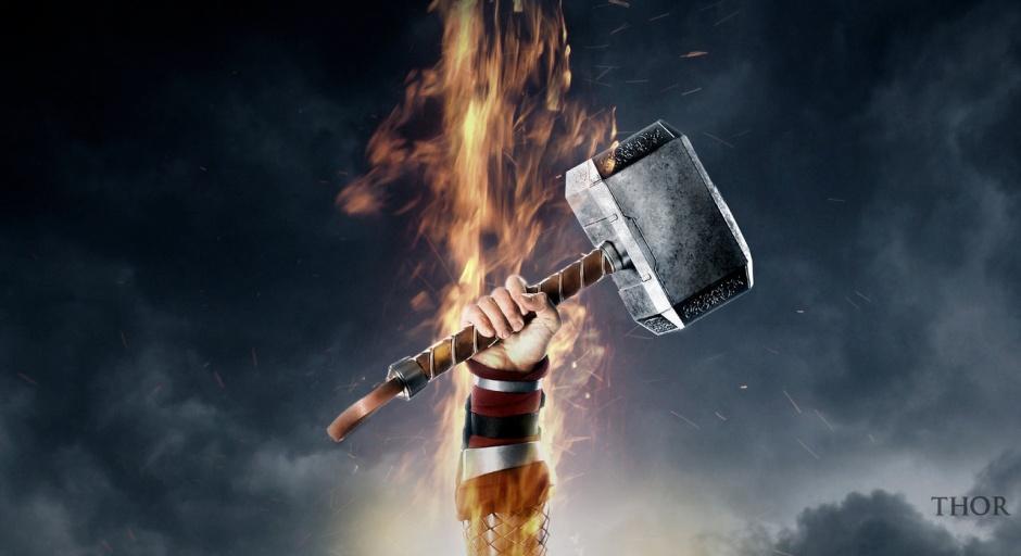 "Póster fan made de ""Thor 2"""
