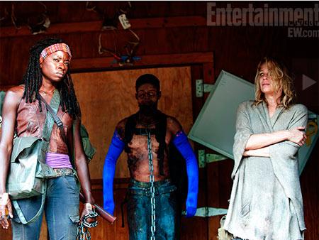 Walking Dead Michonne Andrea