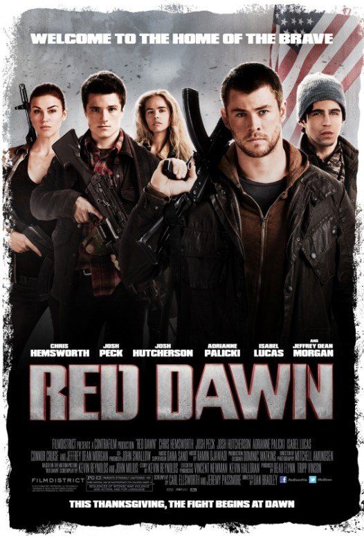 red dawn poster  2012