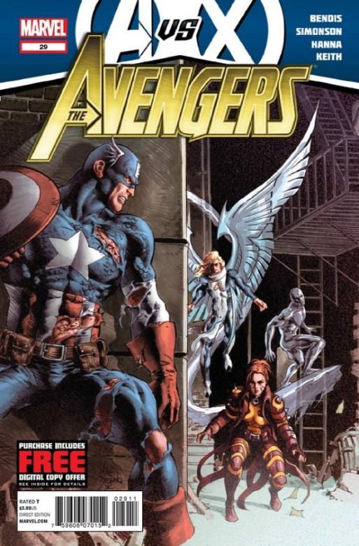 Portada del Avengers 29