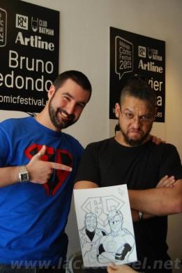 Bruno Redondo y Jon Sedano