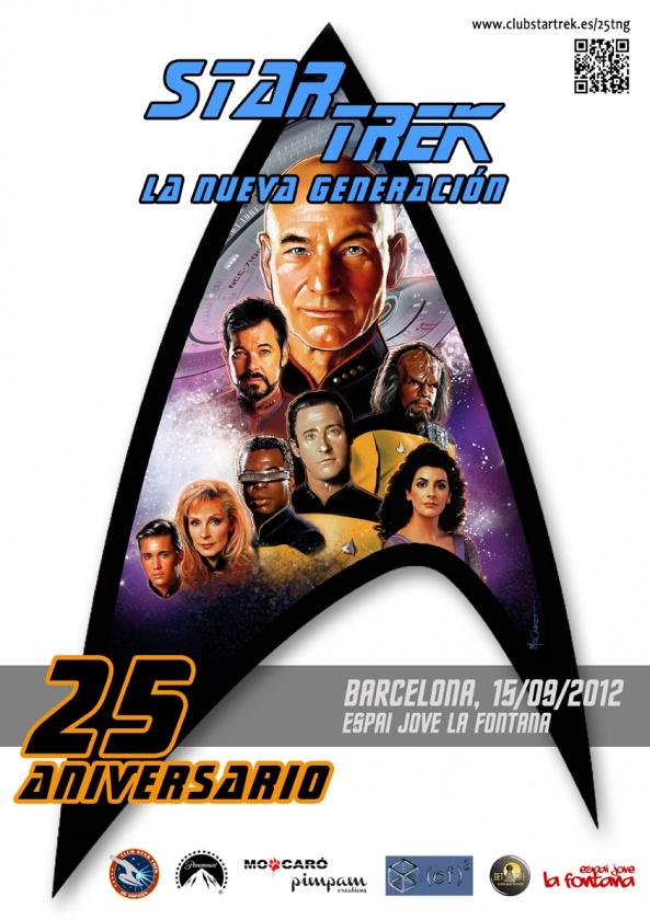 25 Aniversario Star Trek: La Nueva Generación